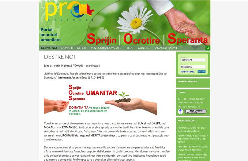 Portal anunturi umanitare