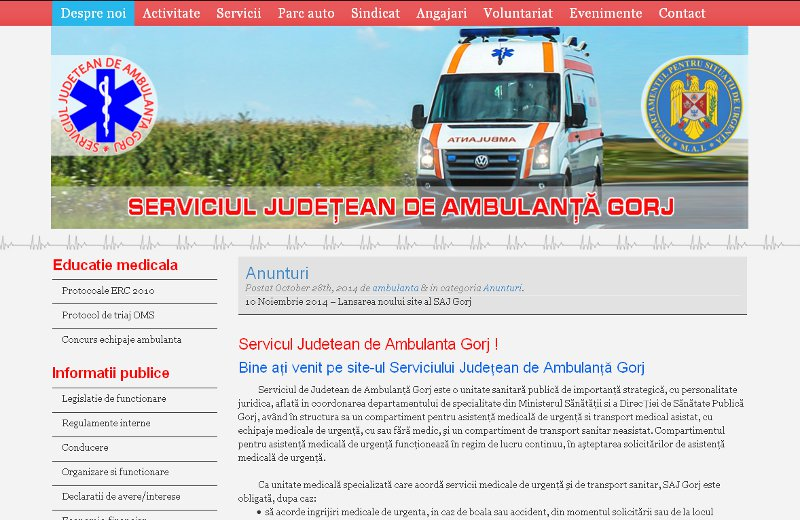 Ambulanta Gorj