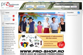 Magazin promotionale personalizate