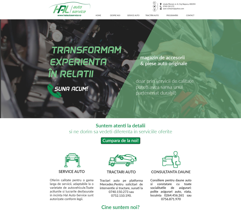 Service auto Cluj Hal Auto Service