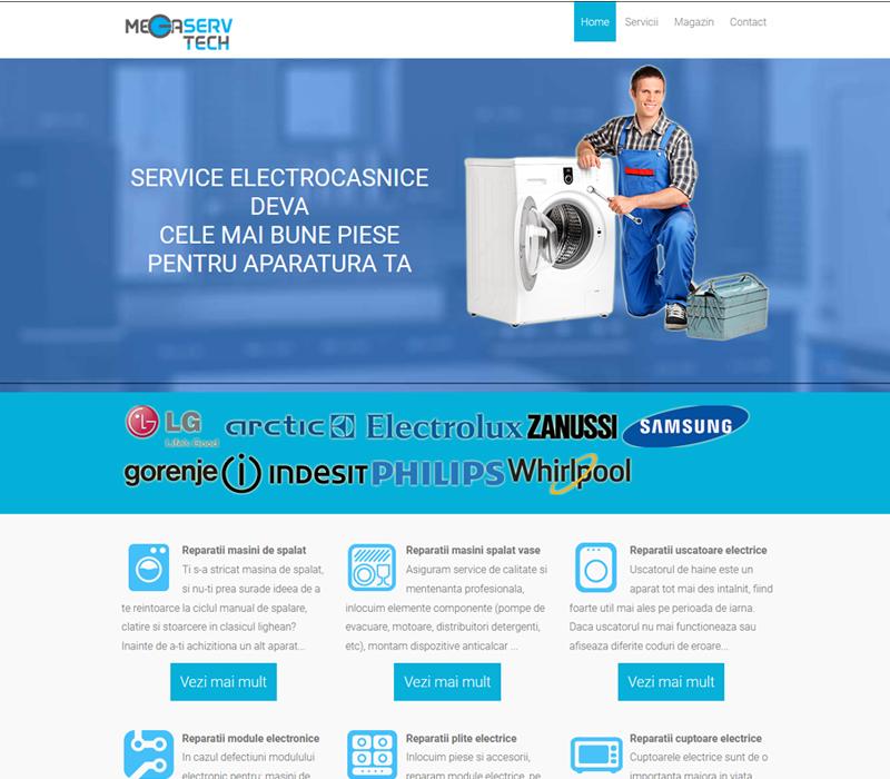 Reparatii electrocasnice Deva